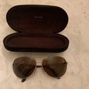 Tom Ford polarized aviator sunglasses